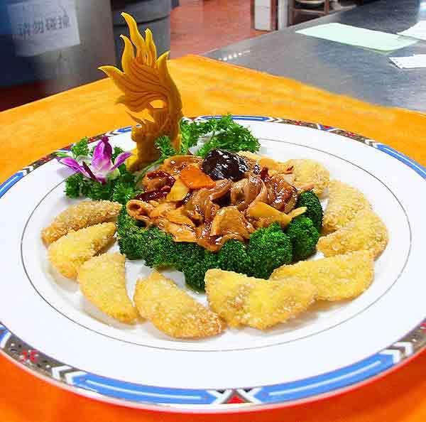 黄葵伴雪梅:美食界的高颜值,你会做吗